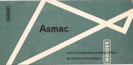 BUVARD Pharmacie - Laboratoires Wander - Traitement De L'Asthme - ASMAC - Chemist's