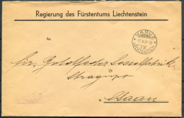 1939 Liechtenstein Vaduz Cover - Covers & Documents