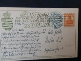 41/745     CP  1917   GERMANIA - Allemagne