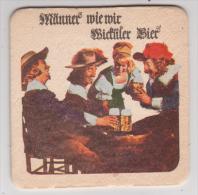 Wicküler Dortmund Männer Wie Wir , Wicküler Bier - Beer Mats