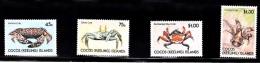Cocos (Keeling) Islands, 1990, SG 219 - 222, Set Of 4, MNH - Cocos (Keeling) Islands