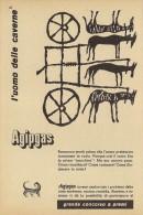 # AGIP GAS 1950s Car Italy Advert Pub Pubblicità Reklame Gaz - Transporto