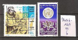 Egypte PA 146-147 ** Côte 6 € - Poste Aérienne