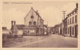 Calcken Kalken - De Dorpstraat En Gemeentehuis - Kruishoutem