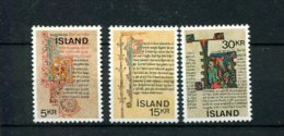IJsland 439/41 Postfris ( M 25