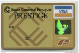 Spécimen Perforé De Carte De Crédit Oberthur Premier - Banco Comercial Português - Portugal - Cartes De Crédit (expiration Min. 10 Ans)