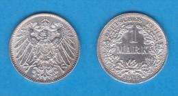 ALEMANIA  / GERMANY (IMPERIO)  1 MARCO  PLATA /SILVER   1.915 F  KM#14  SC-/UNC-    DL-10.914 - [ 2] 1871-1918 : Imperio Alemán