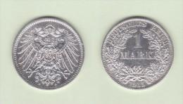 ALEMANIA  / GERMANY (IMPERIO)  1 MARCO  PLATA /SILVER   1.915 A  KM#14  MBC/VF    DL-10.915 - [ 2] 1871-1918 : Imperio Alemán