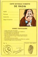 Carte Nationale D´identité De Radin - Humour