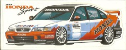 BTCC 1997 Thompson-Tarquini Honda 7,8x19,1 Cm - Automobile - F1