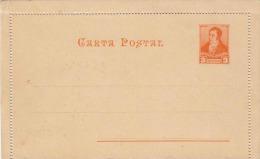 ARGENTINIEN 189? - 3 Centavos Ganzsache (orange) ** Auf Kartenbrief Unbeschrieben - Argentinien