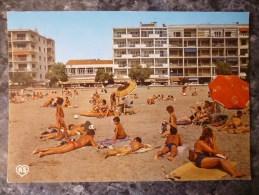 LE GRAU DU ROI (30) LA PLAGE .RIVE GAUCHE.  ANNEES 1980 - Le Grau-du-Roi
