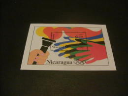 E1301 -Bloc MNH Nicaragua 1993 Summer Olympics Atlanta - Summer 1996: Atlanta