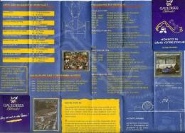 Grand Prix De Monaco 1996 Petit Guide Dépliant Très Bon Etat - Automobile - F1