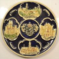 Ancienne Assiette Décorative Luxembourg / Vianden / Clervaux / Echternach - Céramiques