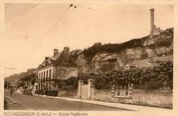 ROCHECORBON - Route Nationale  - 1948 - - Rochecorbon