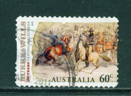 AUSTRALIA  -  2010  Burke And Wills  60c  Self Adhesive  Used As Scan - 2010-... Elizabeth II