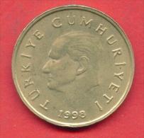 F3814 / - 50 000 Lira - 50 BIN Lira - 1998 - Turkey Turkije Turquie Turkei - Coins Munzen Monnaies Monete - Turquie