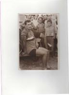 PHOTO Meurisse TOUR De FRANCE 1934? 14e Étape Après L´arrivée à Perpignan LAPÉBIE Se Repose. - Cycling