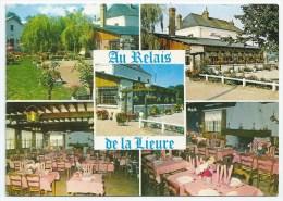 Cpsm: 27 MENESQUEVILLE (ar. Les Andelys) Relais De La Lieure - Hôtel - Bar - Restaurant. R. DELARUE  CIM - Francia