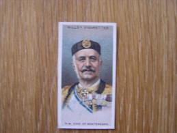 NICOLAS 1 Montenegro ARMY ALLIED LEADER Guerre 1914 1918 World War 1 Wills ´ S Cigarette Vignette Trading Card Chromo - Wills