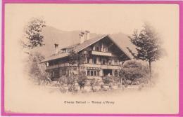 14 / 4 / 271  - CHAMP  BELLUET  - BLONAY S VEVEY - VD Vaud
