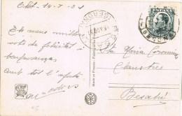 8065. Postal OLOT (Gerona) 1931. Fechador BESALÚ - 1889-1931 Reino: Alfonso XIII