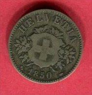 20 RAPPEN 1850 TB 13 - Suiza