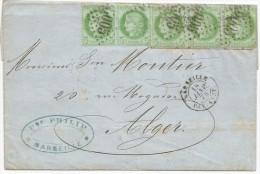 - Lettre - BOUCHES DU RHONE - MARSEILLE - BAT. A VAPEUR - RARE FRAUDE à Voir - 1873 - - 1871-1875 Ceres
