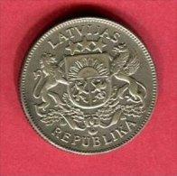 2 LATI 1925 TTB   12 - Lituania