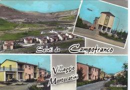 $3- 3031- Saluti Da Campofranco - Caltanissetta - F.g.  Viaggiata - Caltanissetta