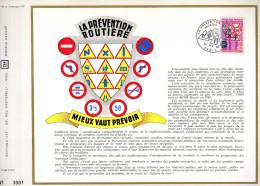 Feuillet Tirage Limité 56 La Prévention Routière Panneaux De Circulation - Blocs & Feuillets