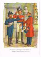 Postbeamter Briefträger Und Postillion Königlich Hannoverschen Post 1850 AK - Postal Services
