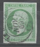 Napoléon III  N° 12  Avec Oblitèration Cachet à Date  TTB - 1853-1860 Napoleon III