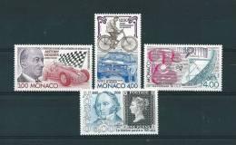 Monaco Timbres De 1990  Neufs** N°1716  Au N°1719 - Nuovi