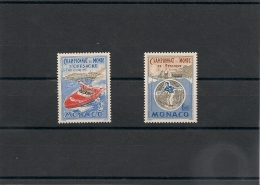 MONACO Année 1990 N° Y/T : 1741/42** - Monaco
