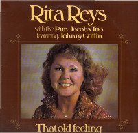 * LP *  RITA REYS With The PIM JACOBS TRIO Feat. JOHNNY GRIFFIN - THAT OLD FEELING (Holland 1979) - Jazz