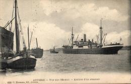 BELGIQUE - ANVERS - ANTWERPEN - Vue Sur L'Escaut - Arrivée D'un Steamer. - Antwerpen