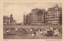 CPU48/ Uitgever Onbekend, Oostende Plage Et Hotels, Stempel Stamp(s) Visit Ostend, Vers Molenbeek - Oostende