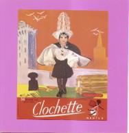 PUBLICITES - BISCOTTES CLOCHETTE NANTES - POUPEE DE COLLECTION - LES SABLES D'OLONNE N° 109 - état Voir Descriptif - Advertising