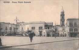 R13-235 - ANDRIA - BARI - P. VITTORIO EMANUELE ANIMTA - F.P. - VG  A. 1916 - Andria