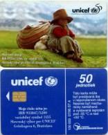 Telefonkarte Slowakei - Unicef - Aufl. 100000 - 07/95 - Slowakei