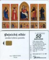 Telefonkarte Slowakei - Christliches Motiv - Aufl. 100000 - 11/96 - Slowakei