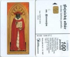 Telefonkarte Slowakei - Christliches Motiv - Aufl. 40000 - 13/96 - Slowakei
