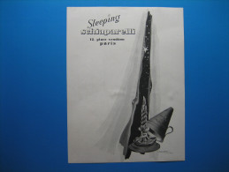 Publicité 1941  SCHIAPARELLI  Parfum Sleeping - Advertising