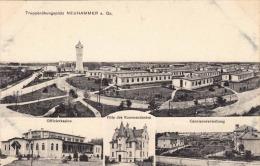 Truppenübungsplatz NEUHAMMER A.Qu., 1916 - Schlesien