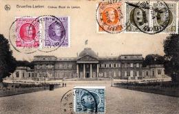 BRUXELLES - LAEKEN, Chateau Royal De Lacken, Gel.1926, 6 Fache Seltene Frankierung - Ohne Zuordnung