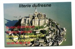 """Belle Carte De Visite """"Literie Dufresne à La Mouche"""" Manche - Mont Saint Michel - Visiting Cards"""