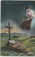 Nr.  1211,  AK  Das Grab In Feindesland, Ungel. 1914-18 - War 1914-18