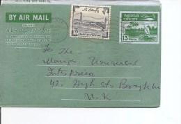 Pakistan ( Aérogramme De 1968 Vers La Grande- Bretagne à Voir)
